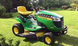 "John Deere X125 Ride on Mower - 42"" deck - Lawnmower - Kubota - Countax - Honda"