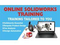 SOLIDWORKS TRAINING & TUTORING, BASIC TRAINING ONE TO ONE BESPOKE PRODUCT DESIGN TRAINING,DRIVEWORKS