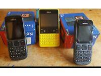 Phones locked to Vodafone £25