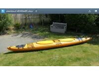 Prijon Excursion sea kayak plus all necessary accessories. One owner for 10 yrs but barely used.