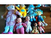 Doll selection all in good condition and great value
