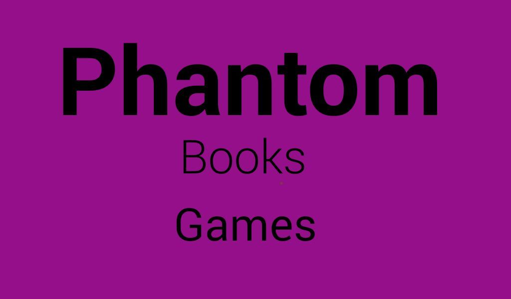 Phantom Books and Games
