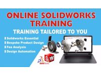 SOLIDWORKS TRAINING & TUTORING, ONE TO ONE BESPOKE PRODUCT DESIGN TRAINING, CAD ENGINEER, DRIVEWORKS