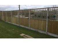 🌲TRELLIS PRESSURE TREATED FENCE PANELS = VARIOUS SIZES🌲