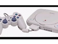 Playstation 1 £40 Collection Only or swap for next gen
