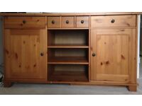 Solid Wood Sideboard - £120 o.n.o