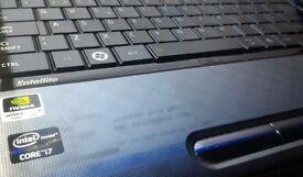 """Laptop 15.6"""" TOSHIBA Intel® Core™ i7 -2670QM, 8GB DDR3 RAM, 1TB SATA HDD, nVidia 2GB, WiFi, Win10"""