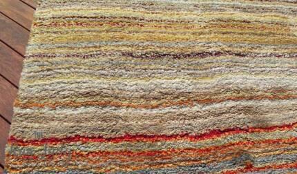 BRAND NEW!!! Large Rainbow-Multi Shaggy Floor Rug