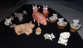 Pig Ornaments Collection