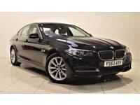 BMW 5 SERIES 2.0 518D SE 4d AUTO 141 BHP + 1 OWNER + SERVICE HISTORY (black) 2013