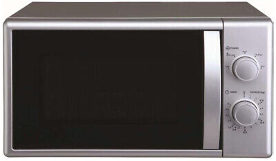 Mikrowelle Unterbaumikrowelle Stand Unterbau Microwelle silber 700 watt respekta
