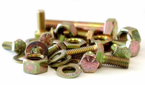 1,250 piece Grade 8 Coarse Thread Nut Bolt & Washer Assortment