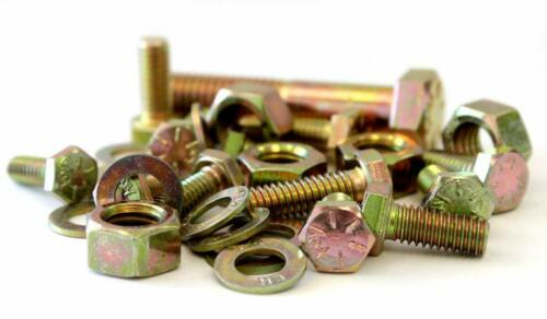 2,510 piece Grade 8 Coarse Thread Nut Bolt & Washer Assortment