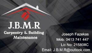 J.B.M.R Carpentry & Building Maintenance St Clair Penrith Area Preview