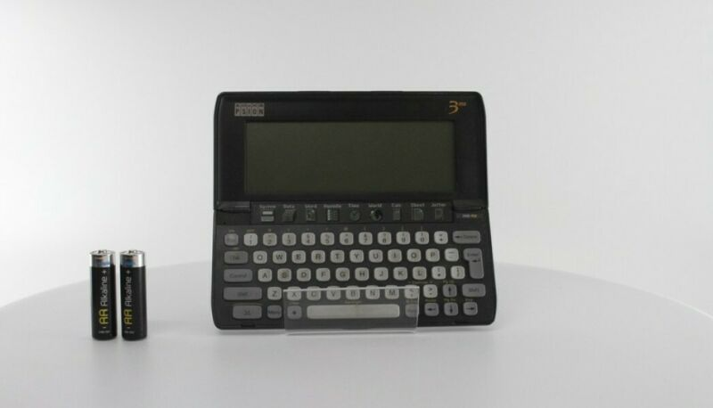 Vintage Retro Psion 3mx Handheld Computer - Read Issues!