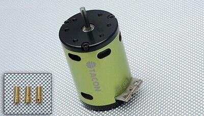Tacon 3650-540-8.5T Sensored Brushless Motor 8.5Turn for 1/10 Car -