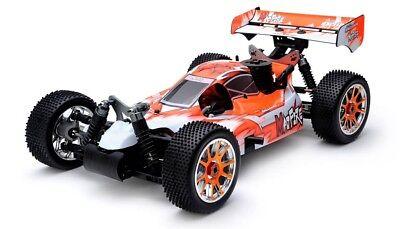 Exceed RC 1/8 Nitro Gas .21 Engine RC RTR Off Road Racing Buggy Gama Orange