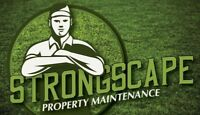 StrongScape Property Maintenance Snow clearing
