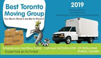 Mover  BEST TORONTO MOVING GROUP. LAST MIN OK. INSURANCE. BTMS