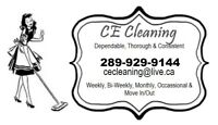 CE Cleaning Services; Home & Office