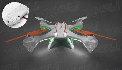 """UDI RC U842 Falcon 19"""" Quadcopter Drone w/HD Camera 6 Axis Gyro 2.4ghz RTF Ghastly"""