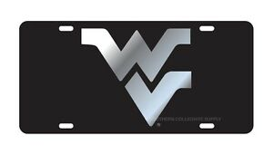 Wvu License Plate College Ncaa Ebay