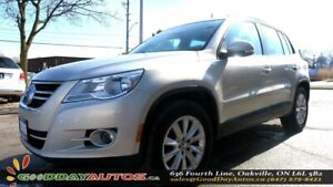 2009 Volkswagen Tiguan Trendline|AWD|ALLOYS|NO ACCIDENT|SUNROOF|