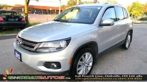 2013 Volkswagen Tiguan Highline|SUNROOF|LEATHER|NAV|REVERSE CAM|