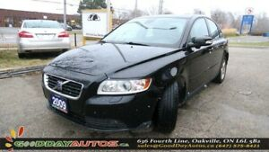 2009 Volvo S40 2.4L|LOW KM|NO ACCIDENT|LEATHER|SUNROOF|ALLOYS