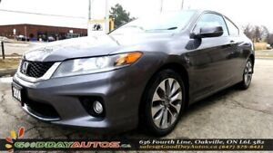 2014 Honda Accord EX-L W/NAVI |SUNROOF|PUSH START|ALLOYS|CERTIFI