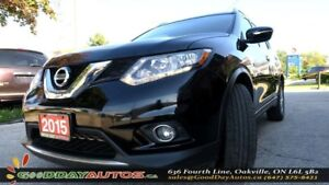 2015 Nissan Rogue SV|B TOOTH|PANORAMIC SUNROOF|ALLOYS|BACKUP CAM