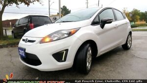 2012 Ford Fiesta SES NO ACCIDENT LEATHER ALLOYS PUSH START REMOT