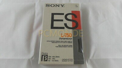 Sony L-750 Beta Videocassette L750BT