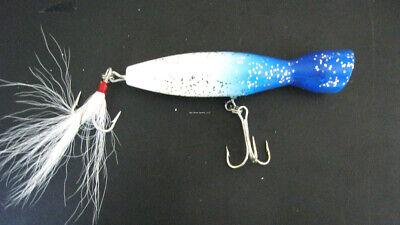 85pc Lot Surge Tube Atomic Lt Red Striper Jigging Spoon Hook Teaser #6LR 1 Pound