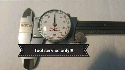 Read 1st Starrett Caliper 120 Or 120a Service Cleaning Zero Reset New Crystal