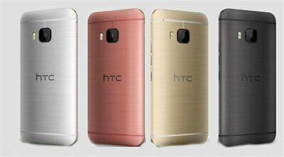 New AT&T HTC One M9 - 32GB - (Unlocked) UNLOCKED Smartphone/Silver+Gold/32GB