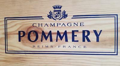 Pommery Champagner Royal Brut Salmanazar in Holzkiste 9 L Flasche