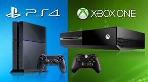 Trade Xbox one for ps4