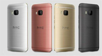 New T-MOBILE HTC One M9 - 32GB - (Unlocked) Smartphone/Silver+Gold/32GB