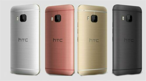 New T-MOBILE HTC One M9 - 32GB -  Smartphone/Silver+Gold/32G