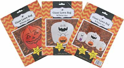 Stuff a Pumpkin and Ghost Family Leaf Bags, Large Medium Small, Set of 5 Bags](Pumpkin Leaf Bags)
