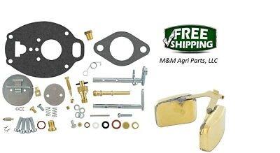 John Deere 2010 Complete Carburetor Kit Float Marvel Tsx810 Tsx899 Carb