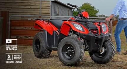 Kymco MXU 150 Quad Bike - 2wd with 5 Year Warranty.