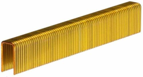 "18GA Medium Crown Staples 3/8"" Crown x 1-1/4"" Length Galv. 2,600 Ct. PREBENA G32"