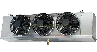 Low Profile Walk-in Cooler Evaporator 3 Fans Blower 18000 Btu 1950 Cfm 115v