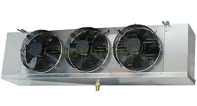 Low Profile Walk-in Cooler Evaporator 3 Fans Blower 14000 Btu 2100 Cfm 220v