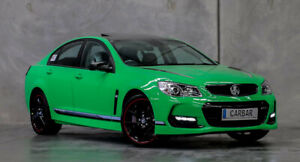 Wanted: WANTED: HOLDEN COMMODORE VF SSV / SSV REDLINE IN SPITFIRE GREEN