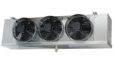 Low Profile Walk-in Freezer Evaporator 3 Fans Blower 17000 Btu 2600cfm 220v