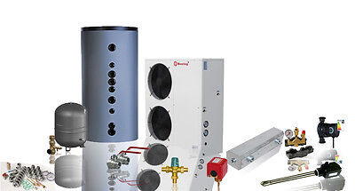 Luft / Wasser Wärmepumpe 18 kW - Heizungs-Komplettpaket