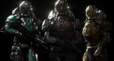 Star Citizen - Complete Overlord Helmets + Overlord Armor Sets - Mega...